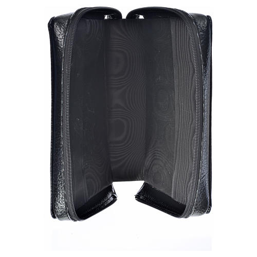 Divine office cover black bonded leather Divine Mercy image 3