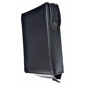 Divine office Cover black bonded leather Holy Family s2