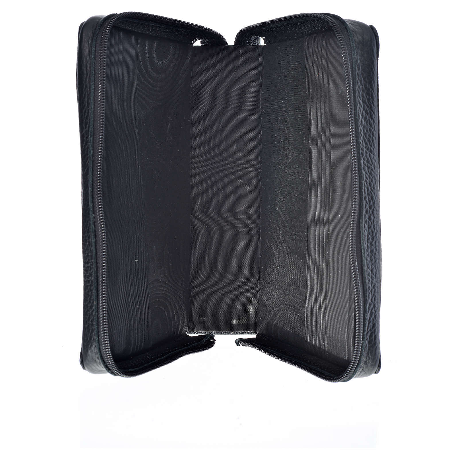Divine office cover black leather Our Lady and Baby Jesus 4