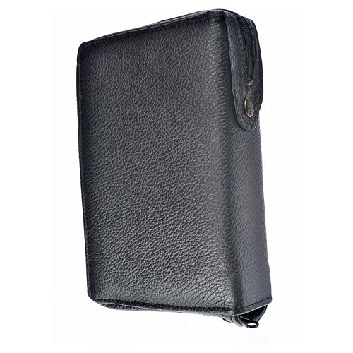 Divine Office cover black leather Holy Family 2