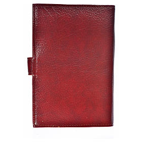 Cover for the Divine Office burgundy bonded leather Our Lady of the Tenderness s2