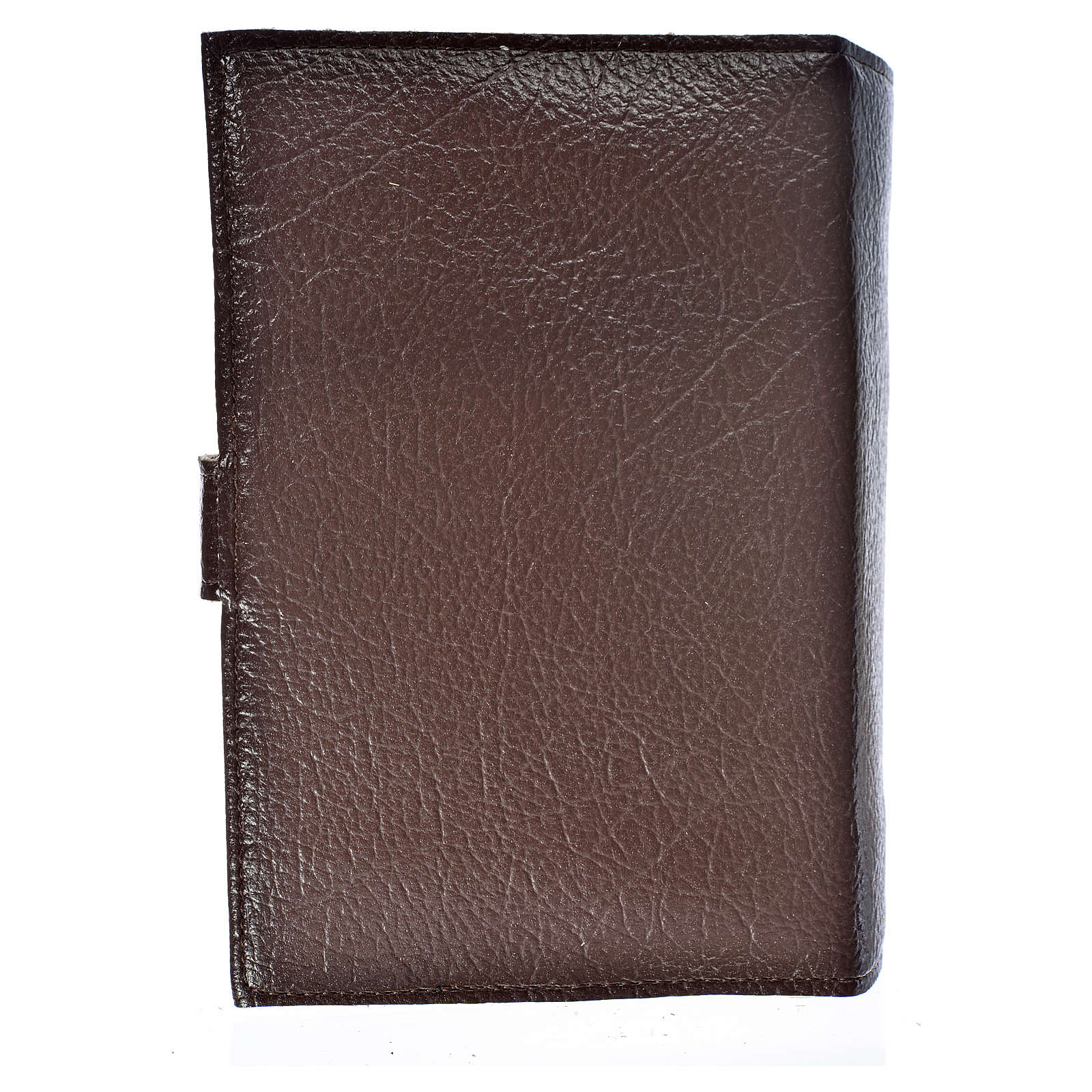 Cover for the Divine Office dark brown bonded leather Our Lady 4