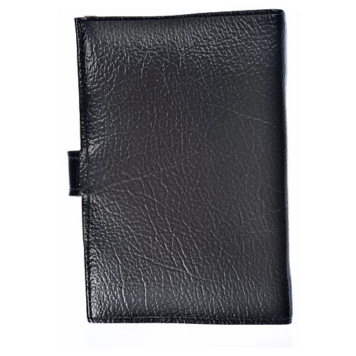 Cover for the Divine Office black bonded leather Our Lady of the Tenderness 2