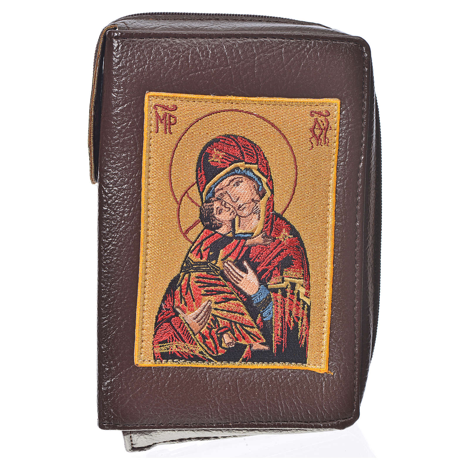 Ordinary Time III cover in bonded leather with image of Our Lady and Baby Jesus 4