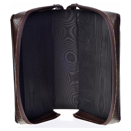 Ordinary Time III cover in bonded leather with image of Our Lady and Baby Jesus 3