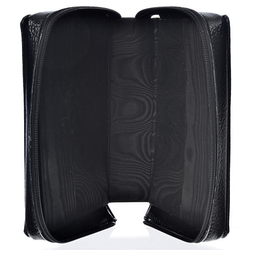 Liturgy of the Hours cover, black bonded leather 3