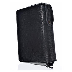 Liturgy of the Hours cover, black bonded leather s2