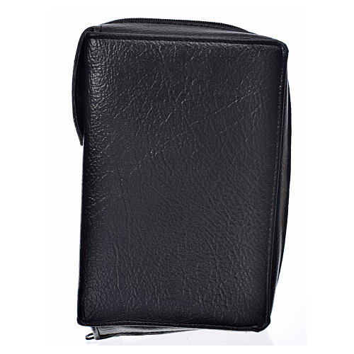 Liturgy of the Hours cover, black bonded leather 1