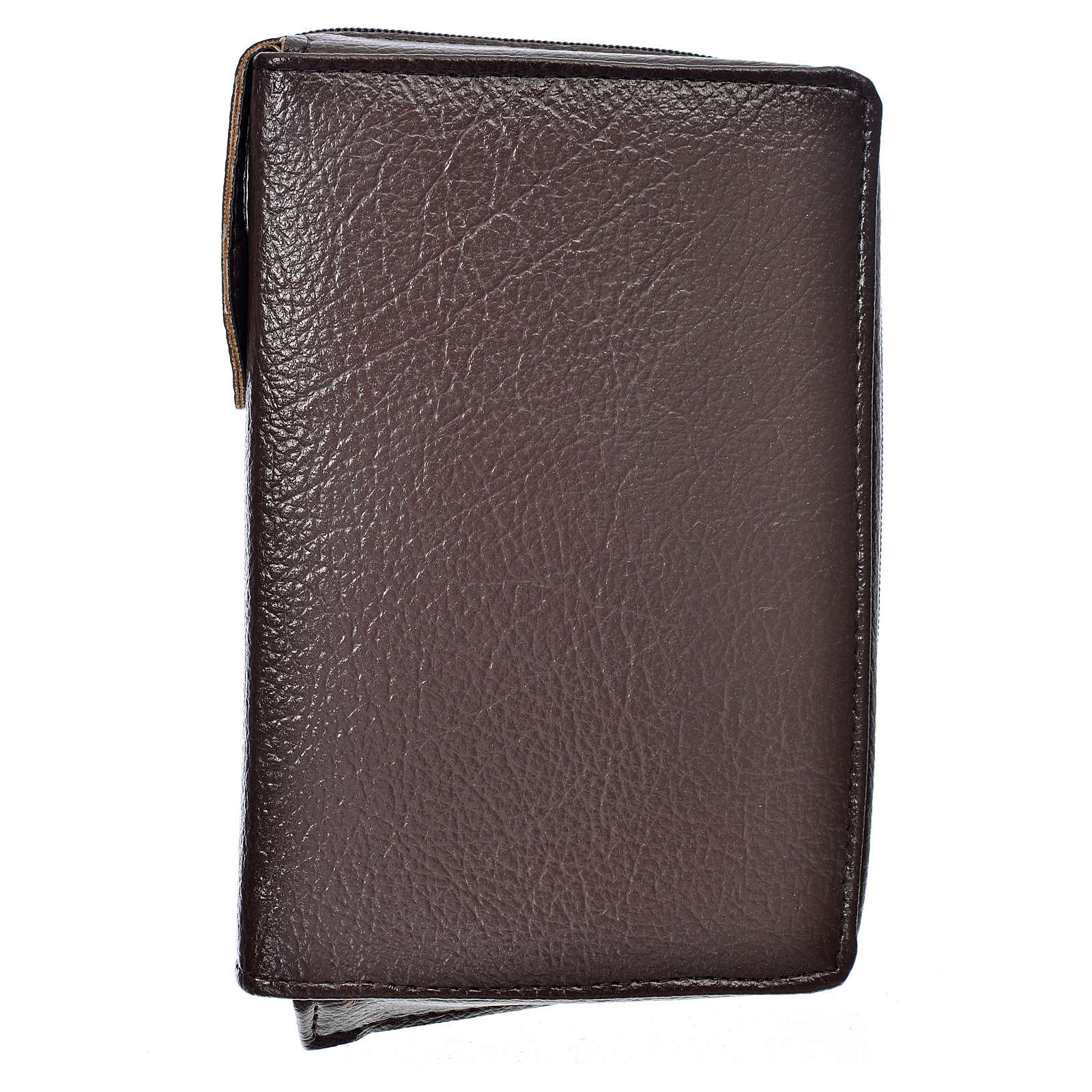 Cover Liturgy of the Hours in dark brown bonded leather 4