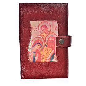 Leather imitation Ordinary Time cover burgundy s1