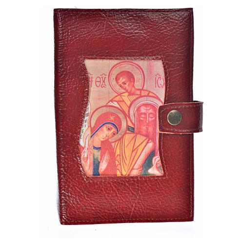 Leather imitation Ordinary Time cover burgundy 1