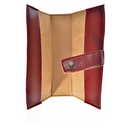 Leather imitation Ordinary Time cover burgundy 3
