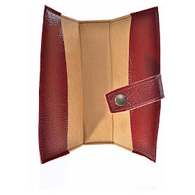 Ordinary time III cover in burgundy leather imitation with Our Lady image s3