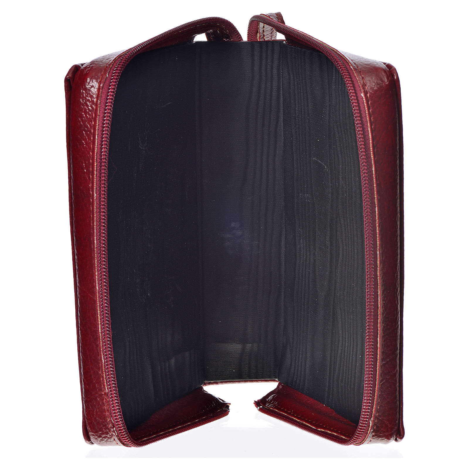 Morning & Evening prayer cover, burgundy bonded leather with image of the Christ Pantocrator 4