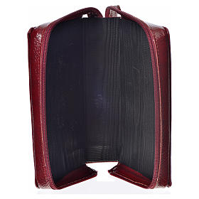Morning & Evening prayer cover, burgundy bonded leather with image of the Christ Pantocrator s3
