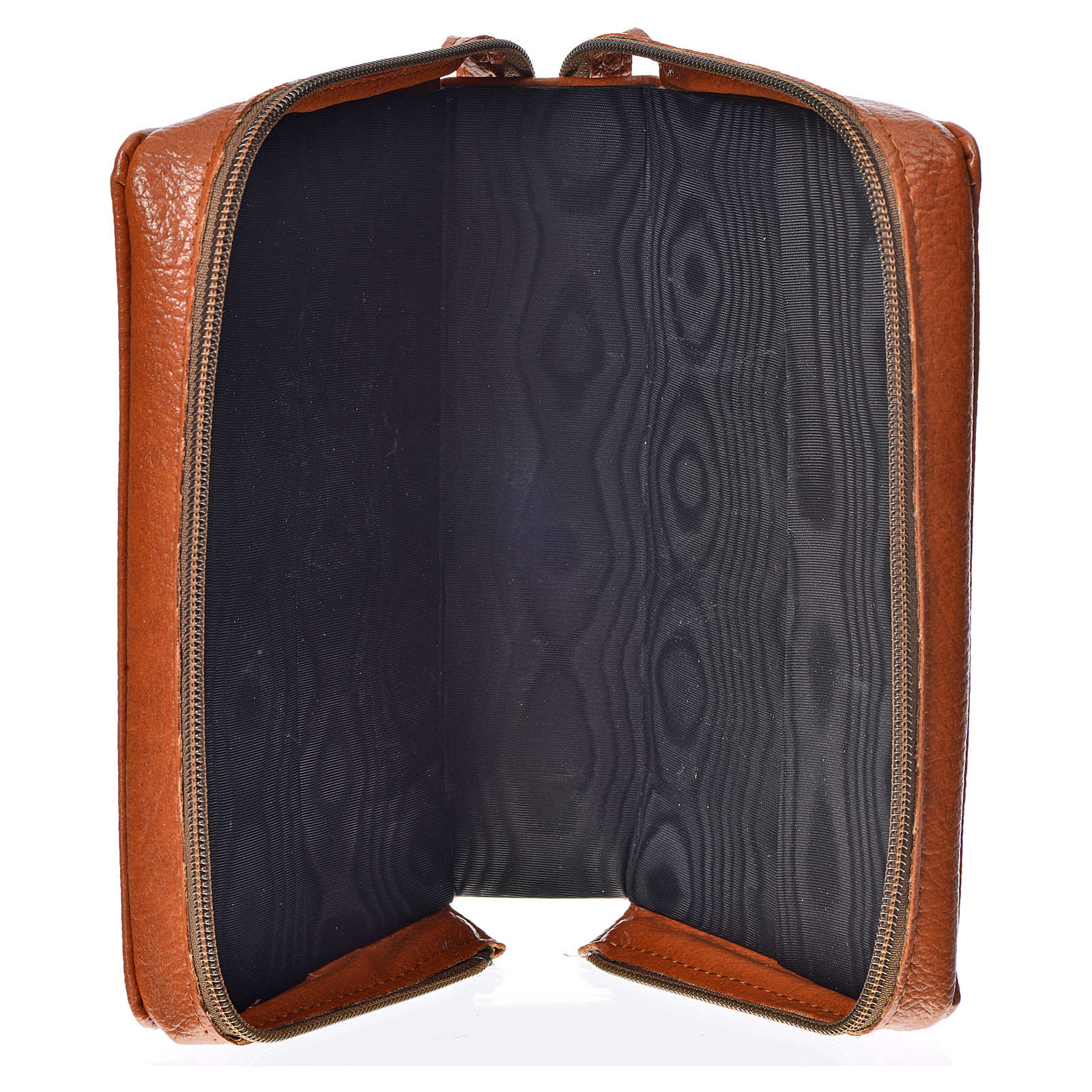 Morning & Evening prayer cover in brown bonded leather with image of the Holy Family 4