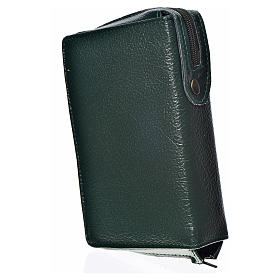 Morning & Evening prayer cover green bonded leather Holy Trinity s2