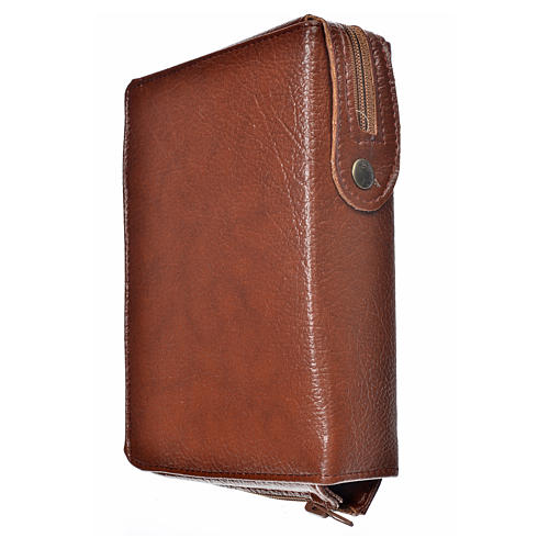 Morning & Evening prayer cover bonded leather, Our Lady of the Tenderness 2