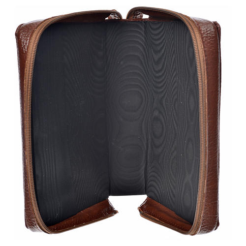 Morning & Evening prayer cover bonded leather, Our Lady of the Tenderness 3