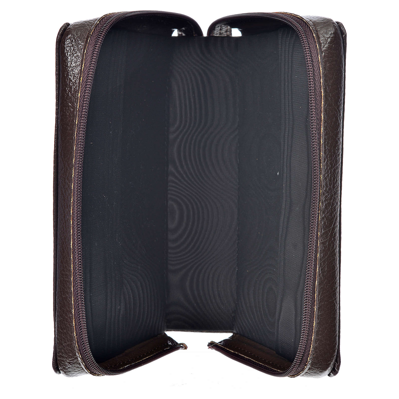 Morning & Evening prayer cover dark brown bonded leather with image of Christ Pantocrator 4