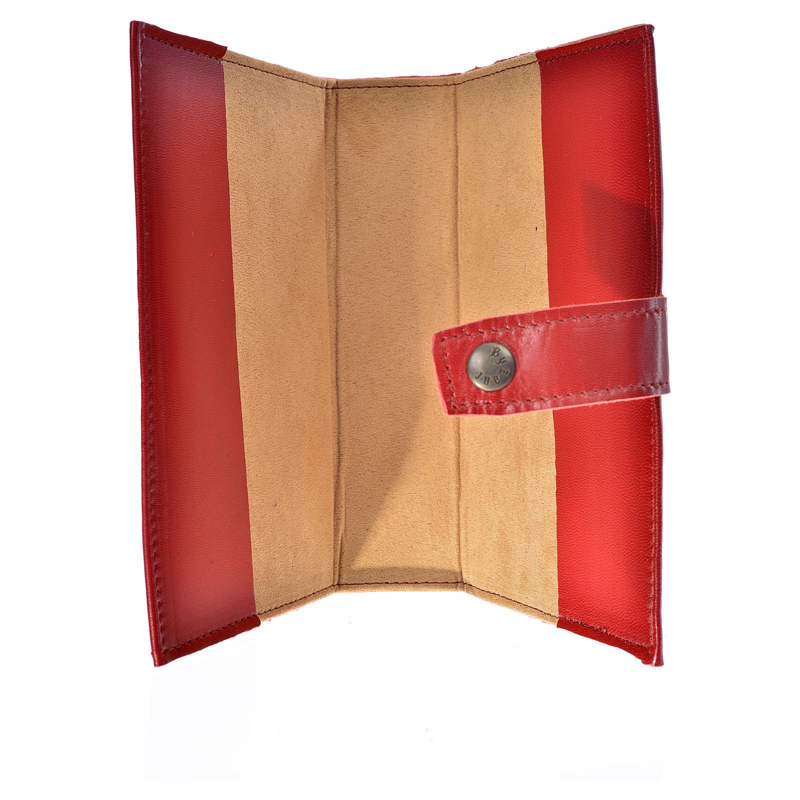 Morning and Evening Prayer cover red leather Our Lady of Kiko 4
