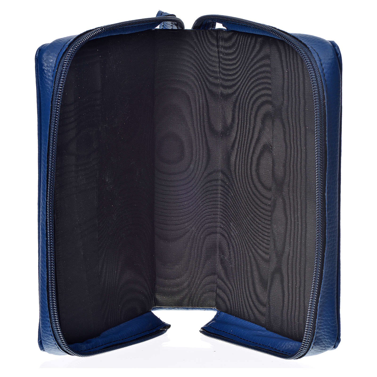 Daily prayer cover blue bonded leather with Holy Trinity 4