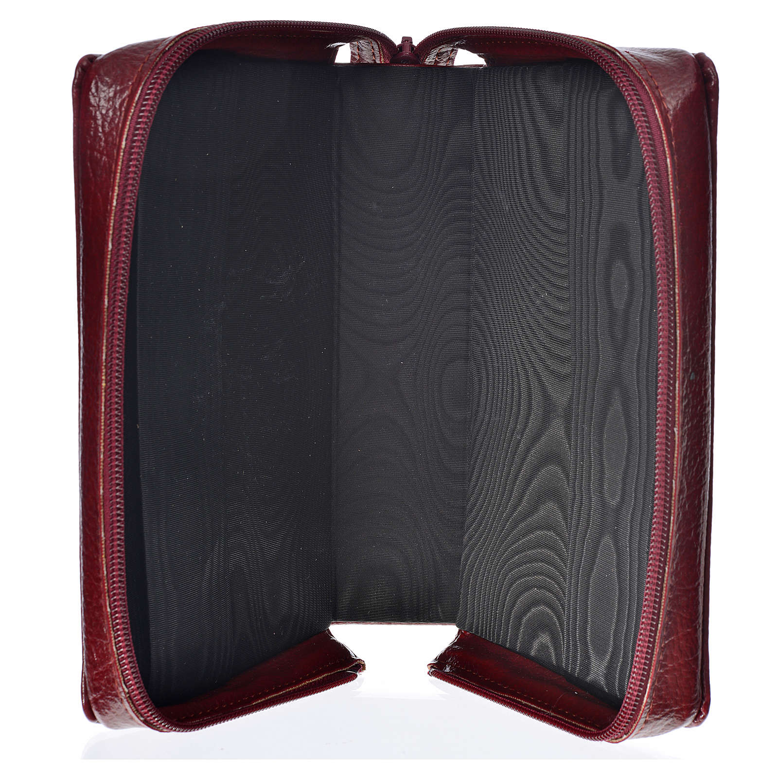 Cover Daily prayer burgundy bonded leather with Holy Family 4