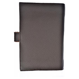 Daily prayer cover genuine leather Our Lady of Kiko s2