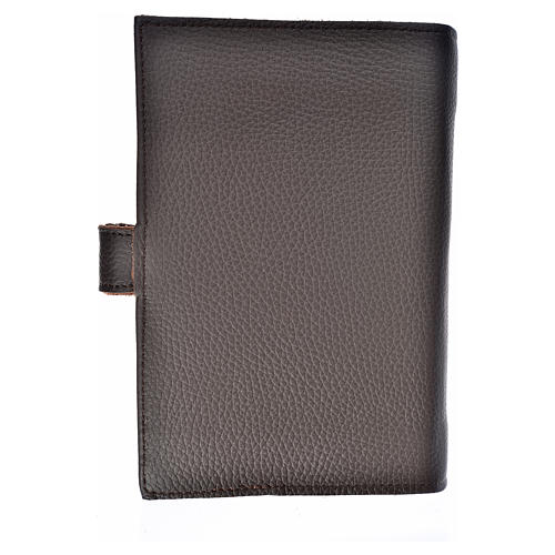 Daily prayer cover genuine leather Our Lady of Kiko 2