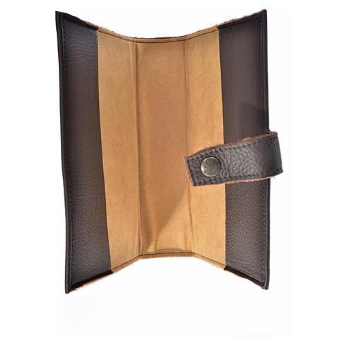 Daily prayer cover genuine leather Our Lady of Kiko 3