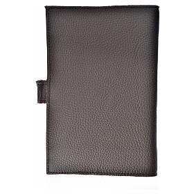 Daily prayer cover genuine leather Our Lady of the new Millennium s2