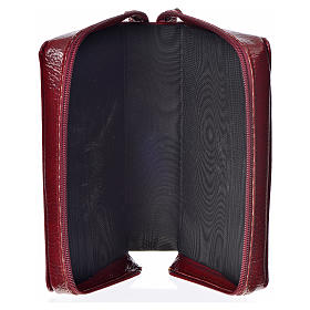 Catholic Bible Anglicized cover, burgundy bonded leather with image of the Divine Mercy s3