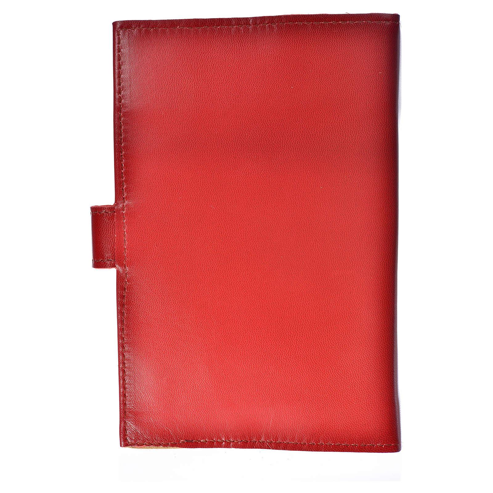 Catholic Bible cover burgundy leather Holy Family 4