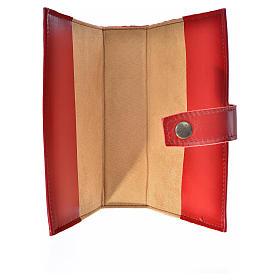 Catholic Bible cover burgundy leather Holy Family s3