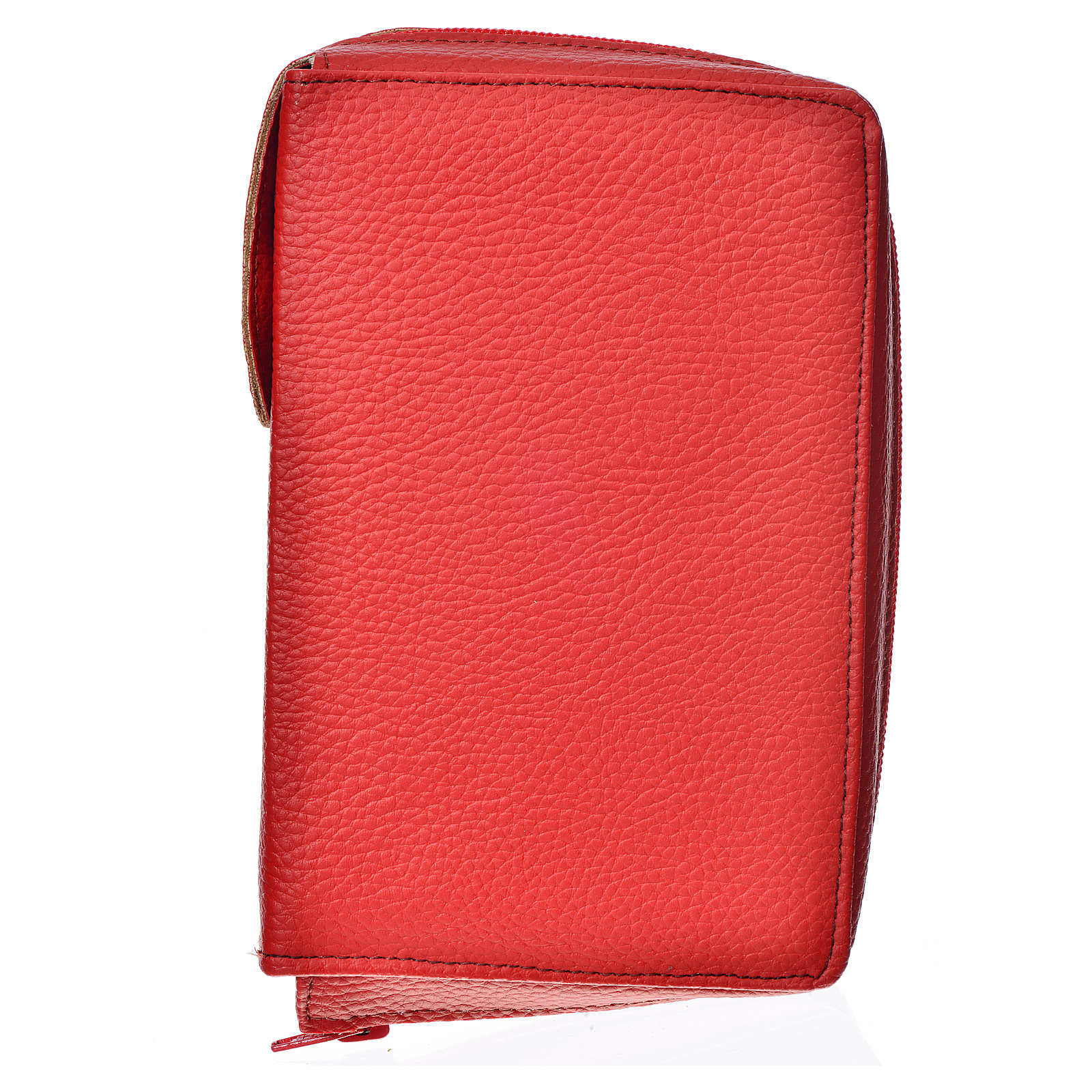 Cover for the New Jerusalem Bible READER ED., red bonded leather 4