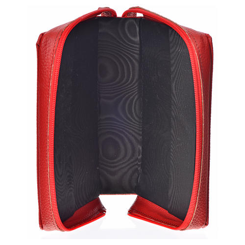 Cover for the New Jerusalem Bible READER ED., red bonded leather 3
