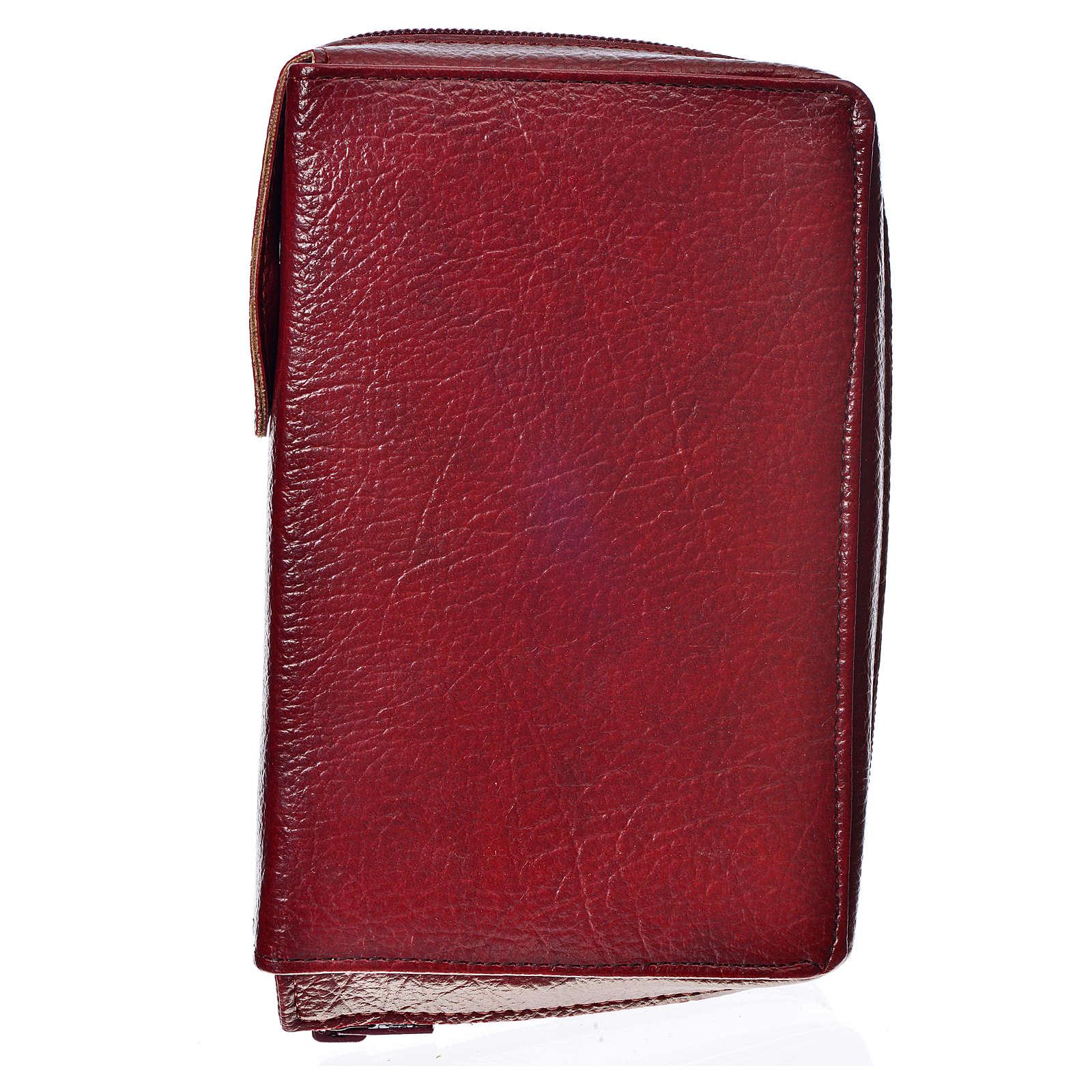 Cover for the New Jerusalem Bible READER ED, burgundy bonded leather 4