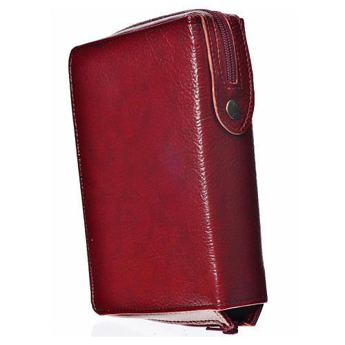 Cover for the New Jerusalem Bible READER ED, burgundy bonded leather 2