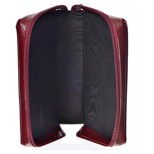 Cover for the New Jerusalem Bible READER ED, burgundy bonded leather 3