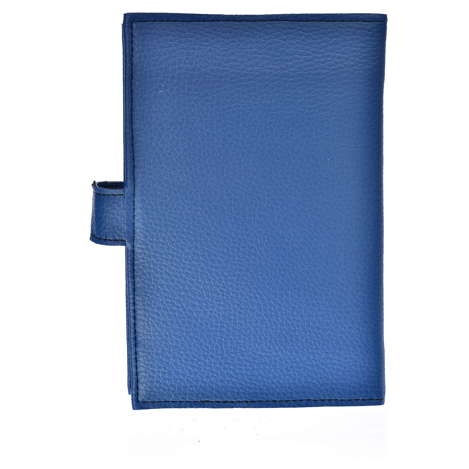 Blue leather imitation New Jerusalem bible READER EDITION cover in English with image of Our Lady 4