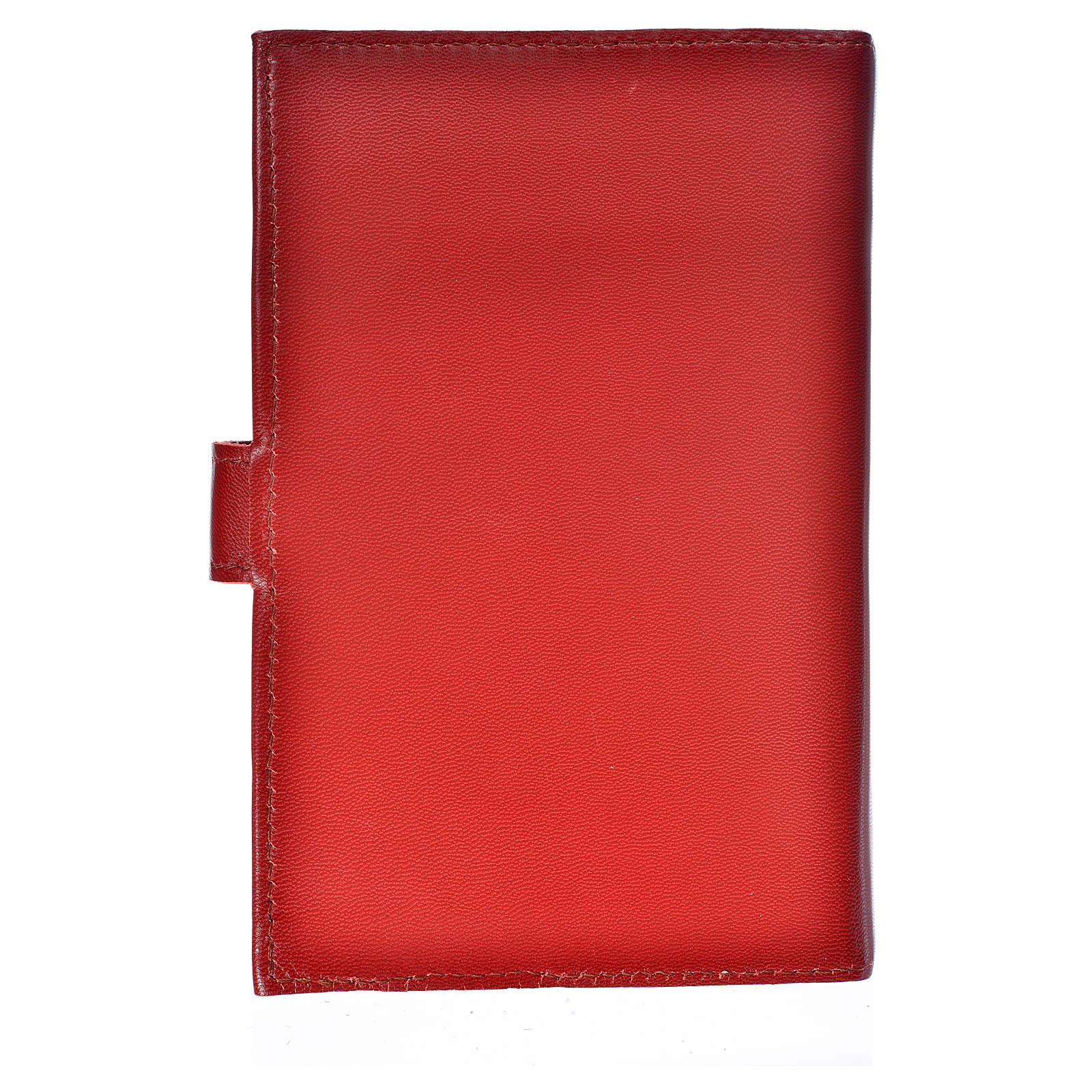 Bible cover reader edition, burgundy leather Holy Trinity 4