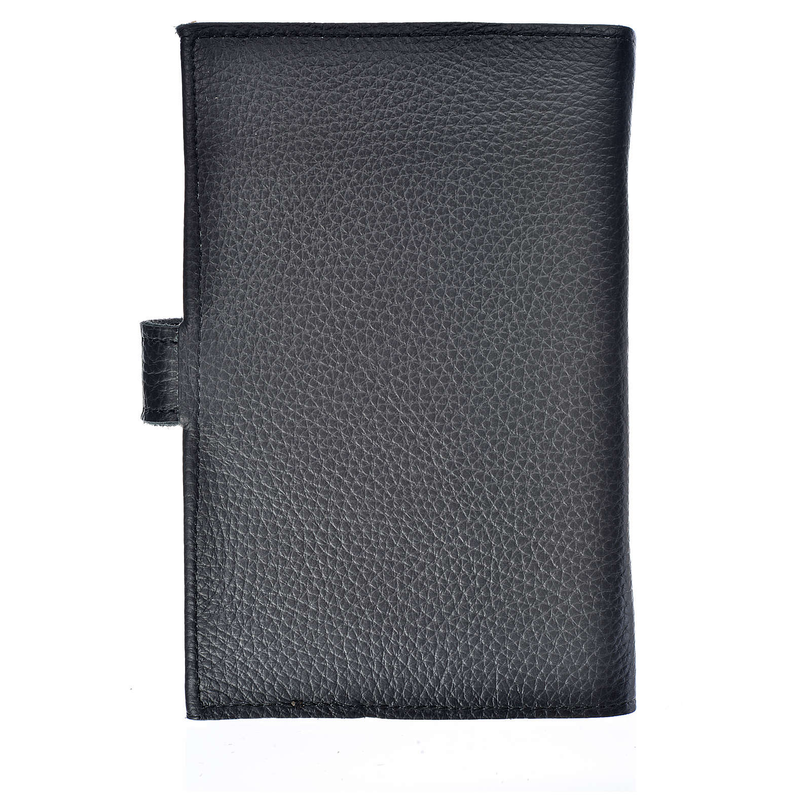 Bible cover reader edition, black leather Holy Trinity 4
