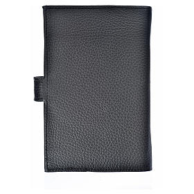 Bible cover reader edition, black leather Holy Trinity s2