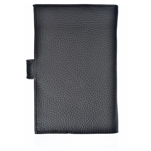 Bible cover reader edition, black leather Holy Trinity 2