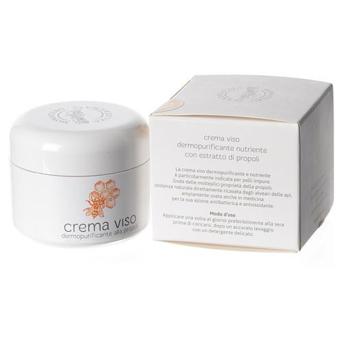 Crème visage nourrissante à la propolis, 50ml 2