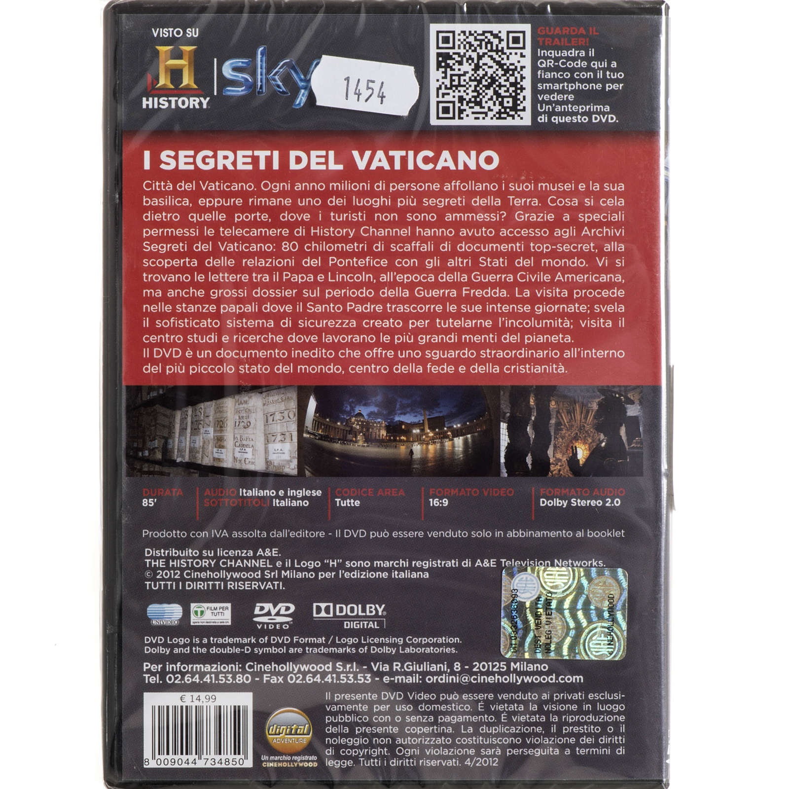 The secrets of the Vatican 3