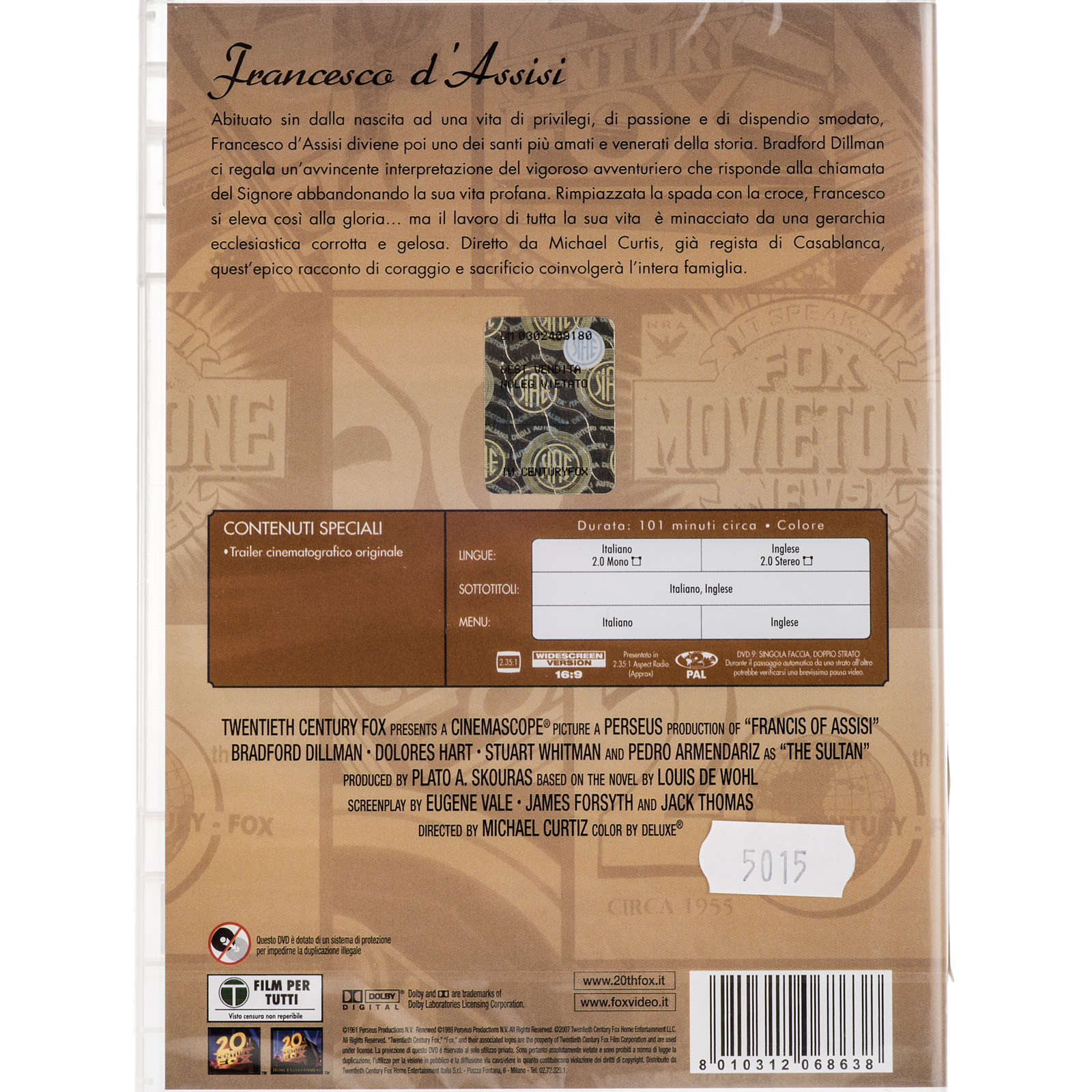 Francesco d'Assisi DVD 3