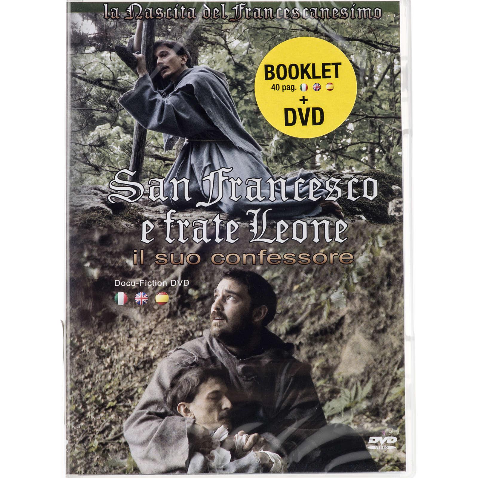 San Francesco e frate Leone il suo confessore 3