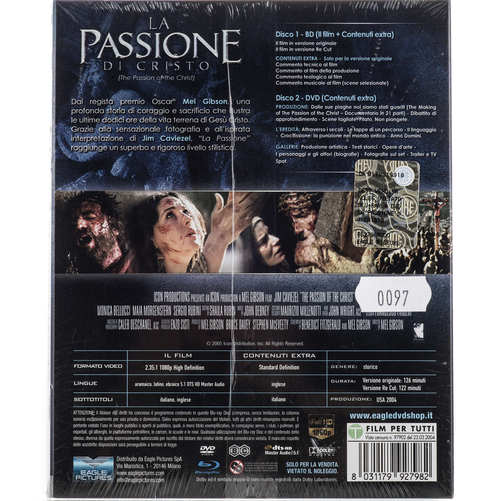 The Passion of Christ, 2 Blu-ray 3