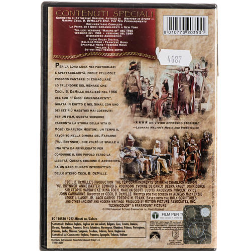 The Ten Commandments DVD 2